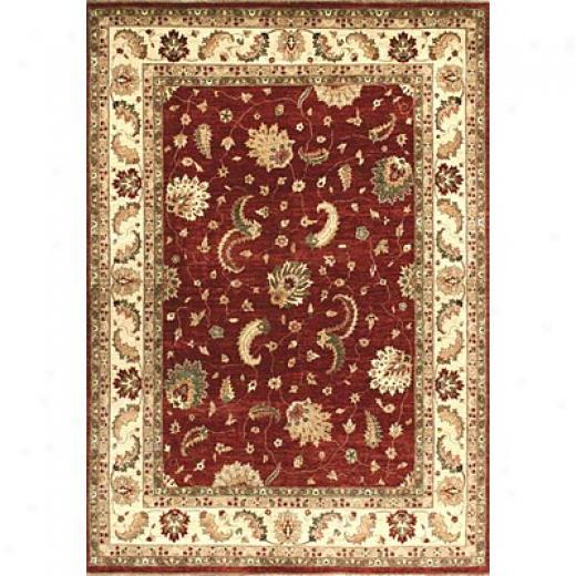 Loloi Rugs Majestic 10 X 14 Red Ivory Area Rugs