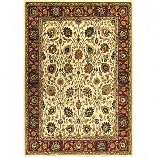 Loloi Rugs Maple 2 X 8 Ivory Red Area Rugs