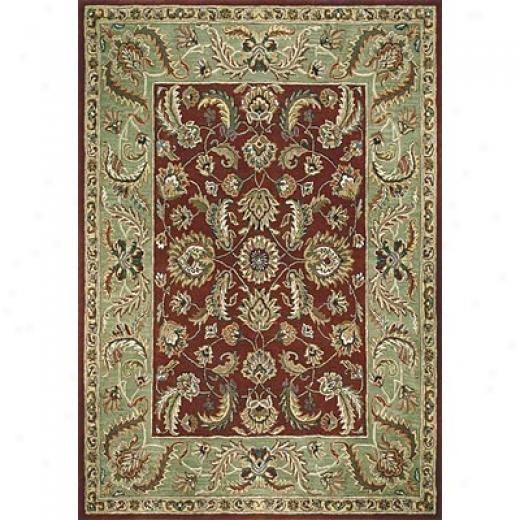 Loloi Rugs Maple 4 X 6 Red Sage Area Rugs