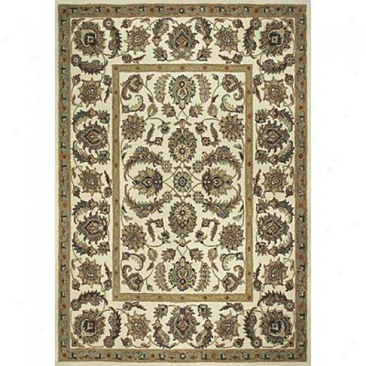 Loloi Rigs Maple 5 X 8 Ivory Ivory Area Rugs
