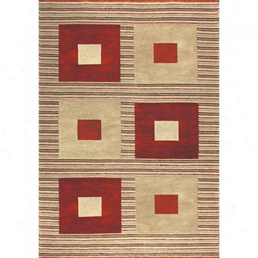 Loloi Rugs Meridan 5 X 8 Red Gold Area Rugs