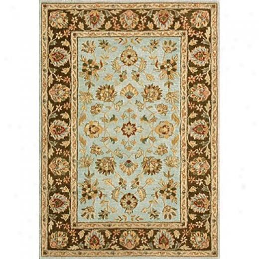Loloi Rugs Prestonwood 8 X 11 Blue Chocolate Area Rugs