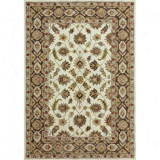 Loloi Rugs Prestonwood 9 X 13 Beige Chocolate Yard Rugs