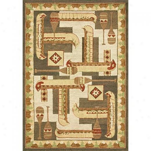 Loloi Rugs Safari 4 X 6 Beige Brown Area Rugs