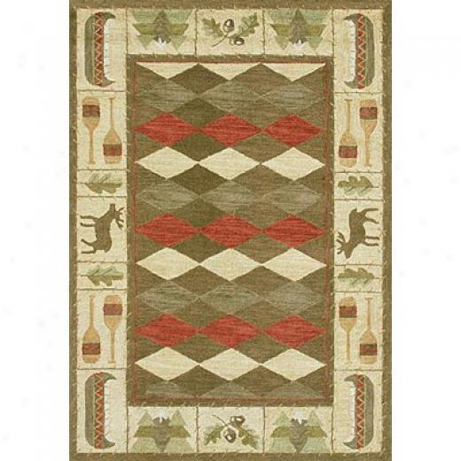 Lolki Rugs Safari 5 X 8 Brown Superficial contents Rugs