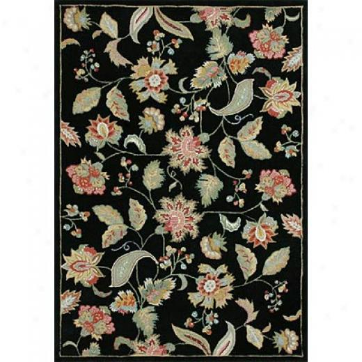Loloi Rugs Sunrise 5 X 8 Black Area Rugs
