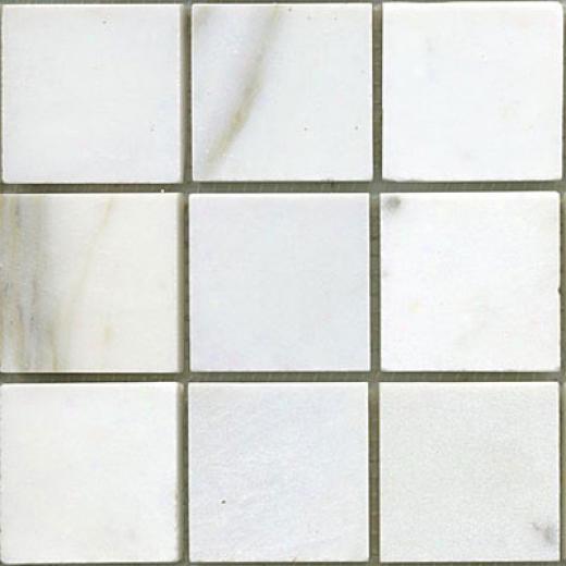 Maestro Mosaics Marble 2 X 2 Mosaic White Statuary Tile & Stone