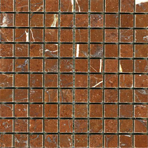 Maestro Mosaics Marble 5/8 X 5/8 Mosaic Polished Calamandina Tile & Stone
