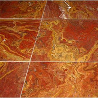 Maestro Mosaics Onyx 12 X 24 Multi-red Tile & Stone
