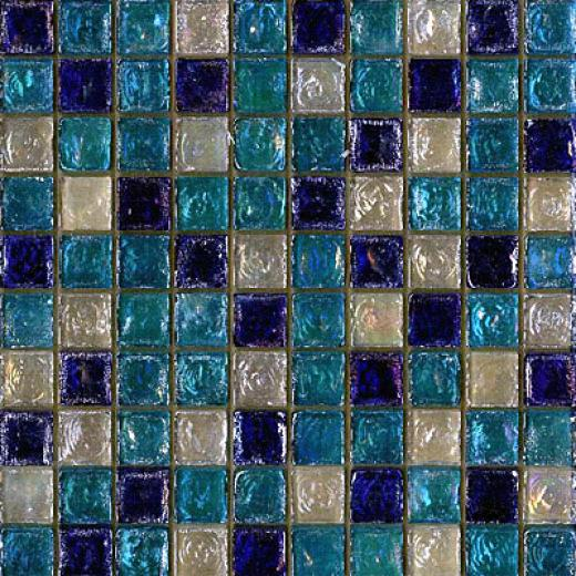 Maestro Mosaics Seaside Glass Mosaic Sea Blue Tile & Stone