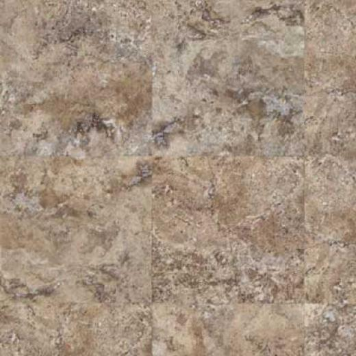 Mannington Adura Tile - Escalante Brownstone Vinyl Flooring