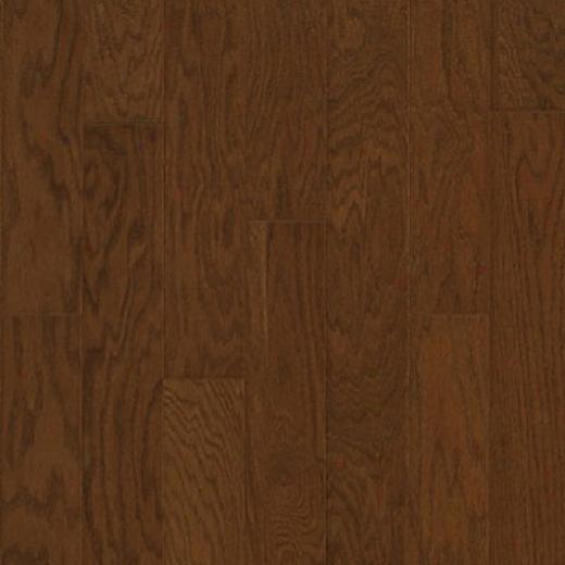 Mannington American Oak 5 Inch Plank Long-cultivated Bronze Harwdood Flooring