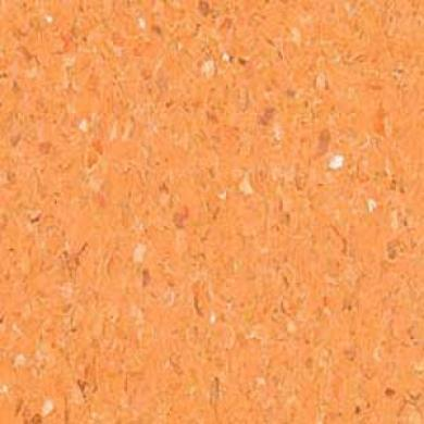 Mannington Brushwork Cadmium Orange Vinyl Flooring