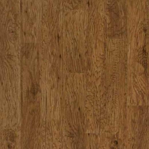 Mannington Distinctive Collection - Suummit Hickory Plank Saffron Vinyl Flooring