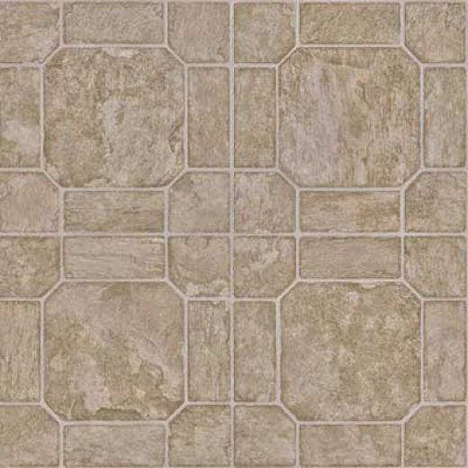 Mannington Simplicity - Easdale Slate 6 Patina Green Vinyl Flooring