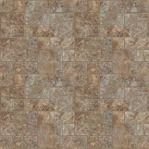 Mannington Simplicity - Medici S5one 12 Venetian Brown Vinyl Flooring
