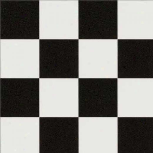 Mannington Sobella Classic - Checkpoint Black And White Vinyl Flooring