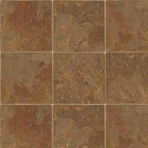 Mannington Sobella Supreme - Ardesia Rajah Red Vinyl Flooring