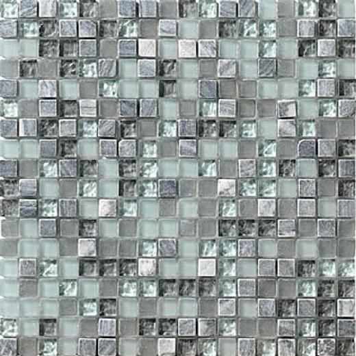 Marazzi Crystal Stone 12 X 12 Breeze Tule & Stone