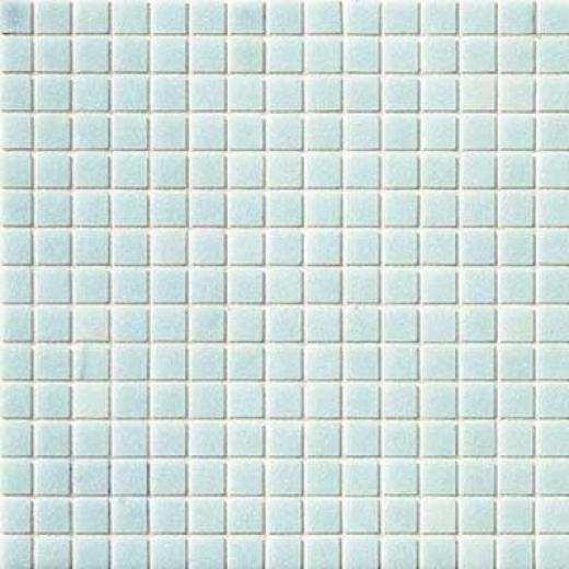 Marazzi Glass Mosaics 1 X 1 White Blue Tile & Stone