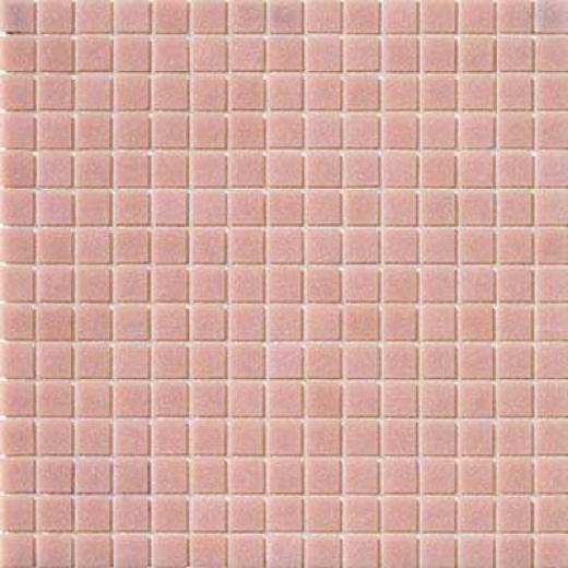 Marazzi Glass Mosaics 1 X 1 Light Pink Tile & Stone