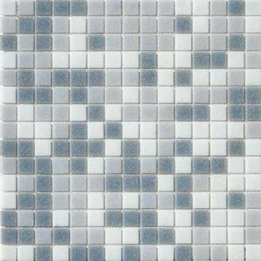 Marazzi Glass Mosaics 1 X 1 Mix Grey Tile & Stone