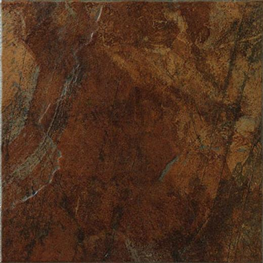 Marazzi Imperial Slate 16 X 16 Imperial Rust Tile & Stone