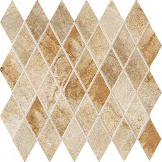 Marqzzi Vesale Stone Diamond Mosaic Sand Tile & Stone