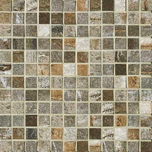 Marazzi Vesale Stone Mosaic 1 X 1 Moss Tile & Stone