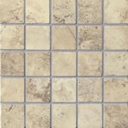 Marca Corona Aedes Regia Tessere Mosaic 2x2 Avorio Tessere Tile & Stone