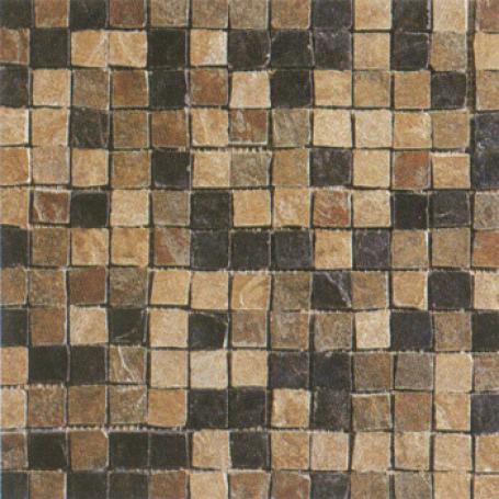 Masterker Tumbled Slate Mosaic Gadl Tile & Stone