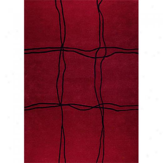 Mat The Basics Amsterdam 7 X 10 Red Area Rugs