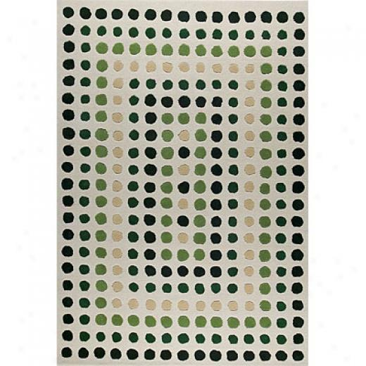 Mat The Basics Dbulin 7 X 10 Green Area Rugs