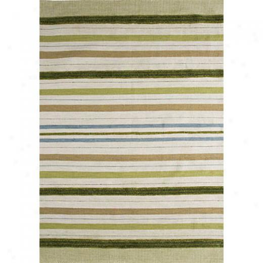 Mat The Basics Panama 3 X 8 Green Area Rugs