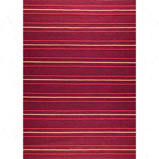 Mat The Basics Savannah 7 X 10 Red Area Rugs