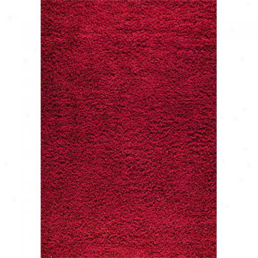 Mat The Basics Shanghai Mix 6 X 8 Red Area Rugs