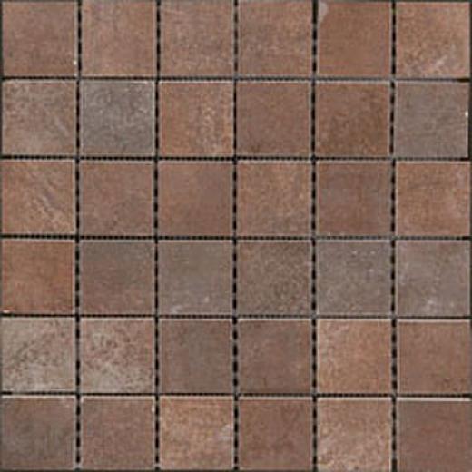 Megatrade Corp. Affreschi Series Porcelain Mosaico Rubino Rust Tile & Stone