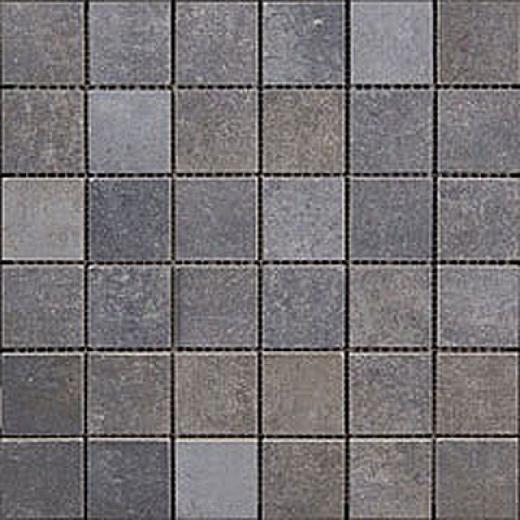 Megatrade Corp. Affreschi Serie Porcelain Mosaico Saffiro Blue Tile & Stone