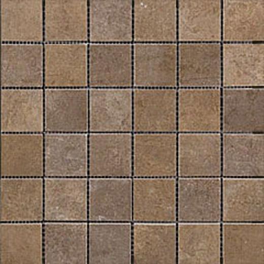 Megatrade Corp. Affreschi Series Porcelain Mosaico Moka Brown Tile & Stone