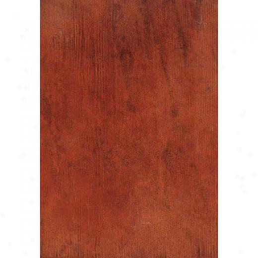 Megwtrade Corp. Antique Wood 12 X 18 Red Wood Mogano Tile & Stone