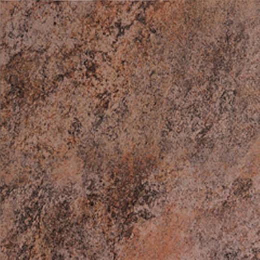 Megatrade Corp. Graniti Flagstone Series Porcelain 20 X 20 Ruggihe Black Tile & Stone