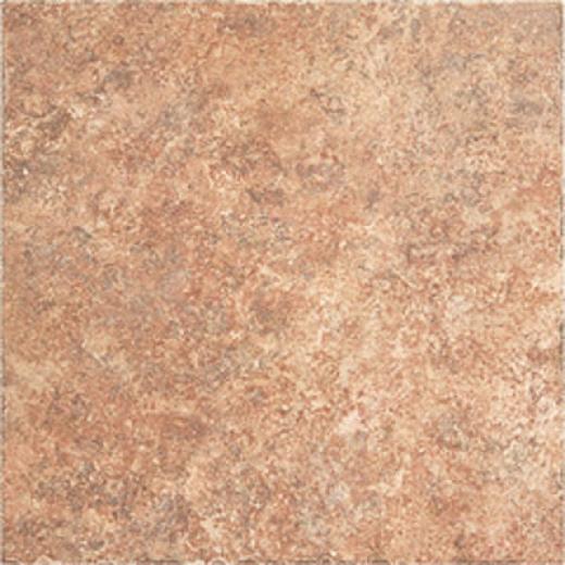 Megatrade Corp. Landscrape Series Porcelain 3 X 6 1/2 Mesa Red Tile & Stone