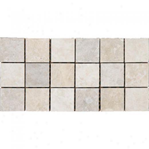 Megatrade Corp. Sassi Series Pocelain 4 X 4 Sabbia Sand Tile & Stone
