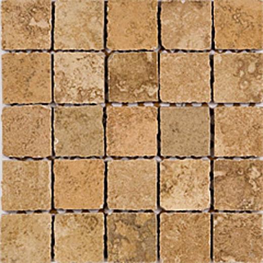 Megatrade Corp. Slate Solutions Mosaico Summer Wheat Tile & Stone