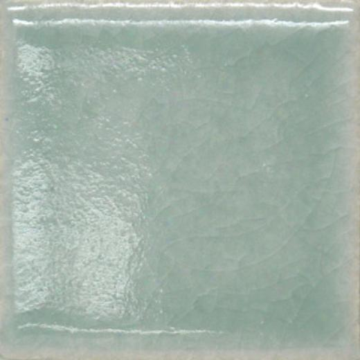 Meredith Art Tile Crackle 4 X 4 Field Tile Sea-glass Tile & Stone