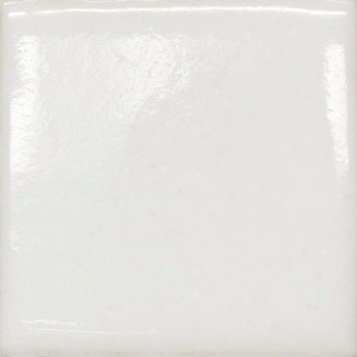 Meredith Art Tile Neutral 2 X 8 Brick Field Tile Gloss White Tile & Stone