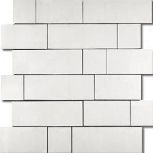 Metal Border Pure Metal Kios Mosaic Satin Tile & Stone