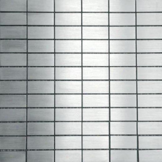 Metal Bordre Pure Metal Subway Inlaid Levigato/sanded Tile & Stone