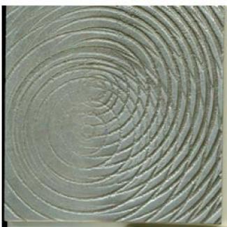 Miila Studios Aluminum Decps Spirograph Tile & Stone