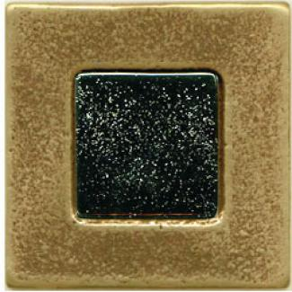 Miila Studios Bronze Barcelona 2 X 2 Barcelona With Dark Amber Tile & Stone